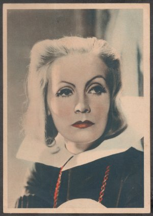 GODFREY PHILLIPS Greta Garbo MINT CARD