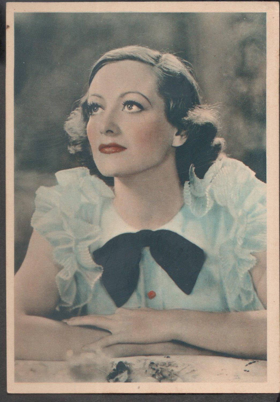 GODFREY PHILLIPS Joan Crawford MINT CARD