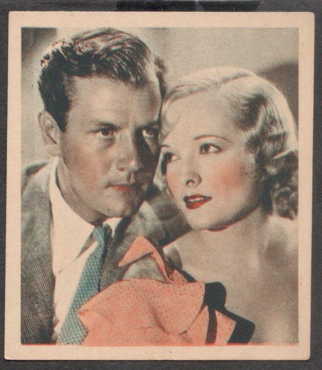 GODFREY PHILLIPS Joe McCrea and Marian Nixon MINT CARD SHOTS FROM THE FILMS