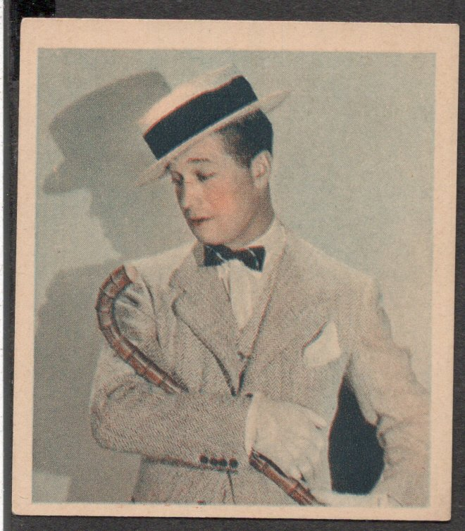 GODFREY PHILLIPS Maurice Chevalier MINT CARD SHOTS FROM THE FILMS