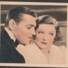 GODFREY PHILLIPS Clark Gable and Myrna Loy MINT CARD SHOTS FROM THE FILMS