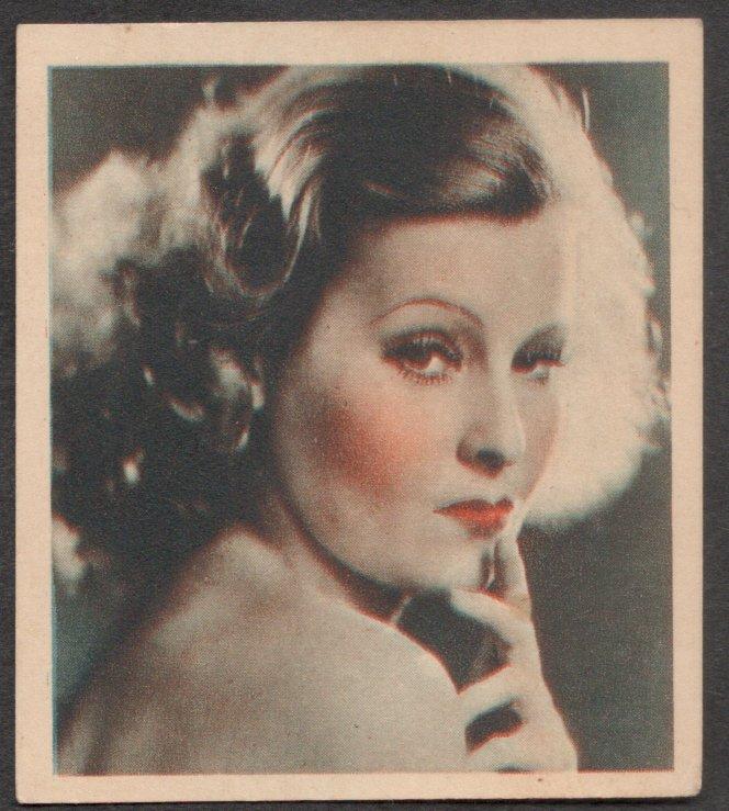 GODFREY PHILLIPS Lilian Harvey SHOT FROM THE FILMS