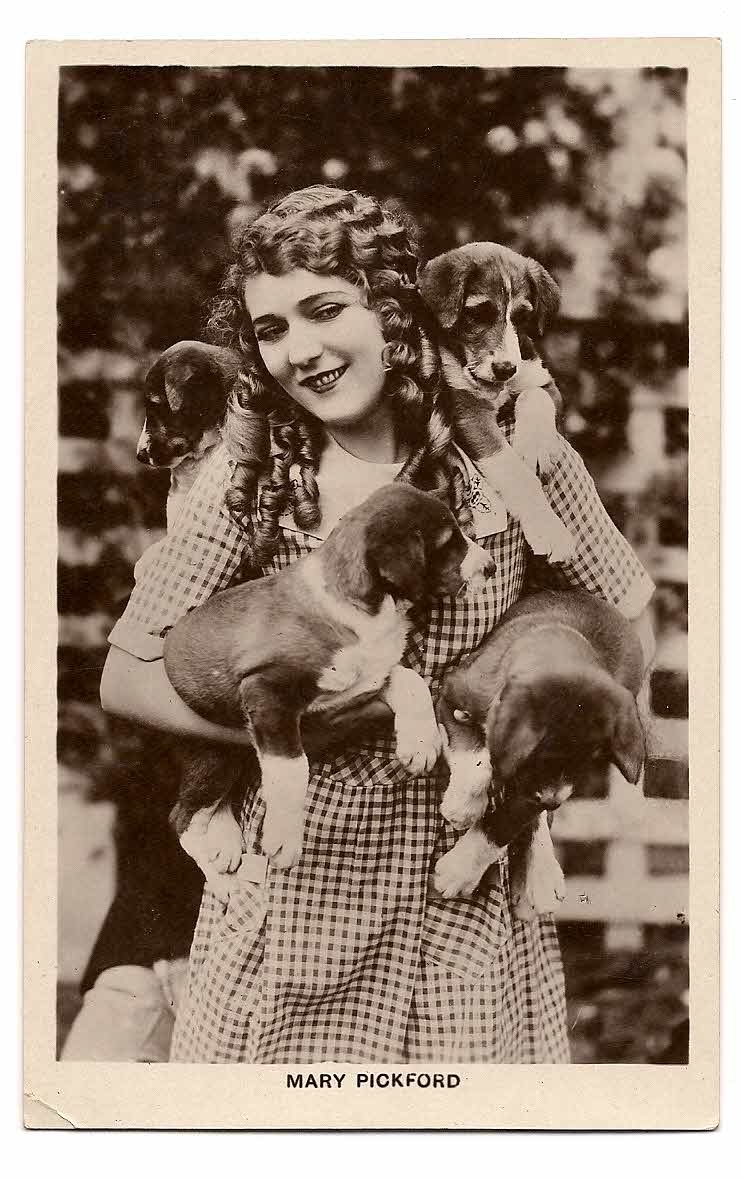"MARY PICKFORD PICTURE POSTCARD BRITISH MFD  No.230  ""Picturegoer""  Series, 88, Long Acre, London"