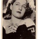 "NORMA SHEARER PICTURE POSTCARD BRITISH MFD  No.206d ""Picturegoer"" Series, 85, Long Acre,London"