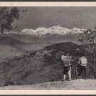 Vintage Card India - VIEW FROM CART ROAD - DARJEELING