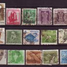 Free !!!    15 Varieties of Used Postage Vintage India Stamps - Start a Collection today