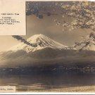Vintage 1947 Plus Picture of Mount Fuji TOKYO Authentic Genuine Rare Collectible