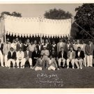 Picture 1958 autographed Ist President Dr Rajendra Prasad - BRITISH HIGH COMMISSION CRICKET TEAM