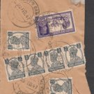 British India Viceroy CAMP PO 1947  - Postal mark on Piece