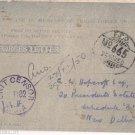 Handwritten Forces Letter FPO 665 Unit Sensor B 82 1950 Presidents Camp PO