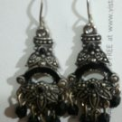 great pair of black chandelier earrings