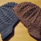 handmade crochet baby boy newsboy hats 0-3 or 3-6  months choose your colors