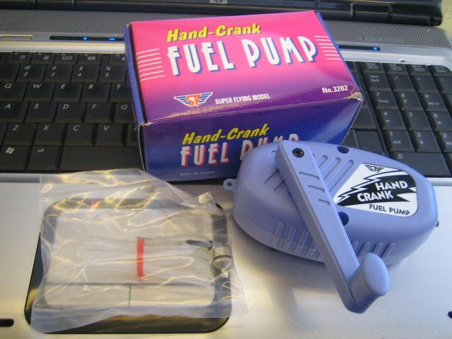 SF Hand-Crank Fuel Pump