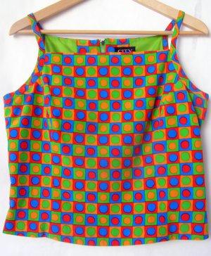 Silk Colored Check Shirt