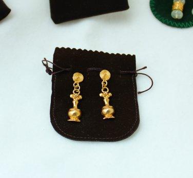 Pre-Columbian Art earrings