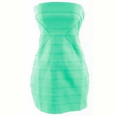 Bodycon mint/ aqua dress (S)
