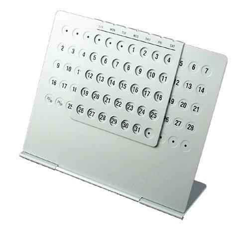 Aluminium Calendar