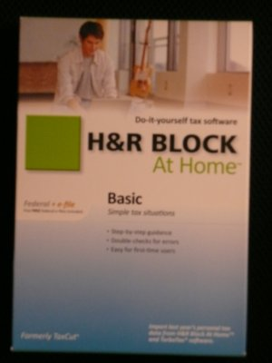 H&R Block® At Home 2010 Basic Federal + 5 eFile
