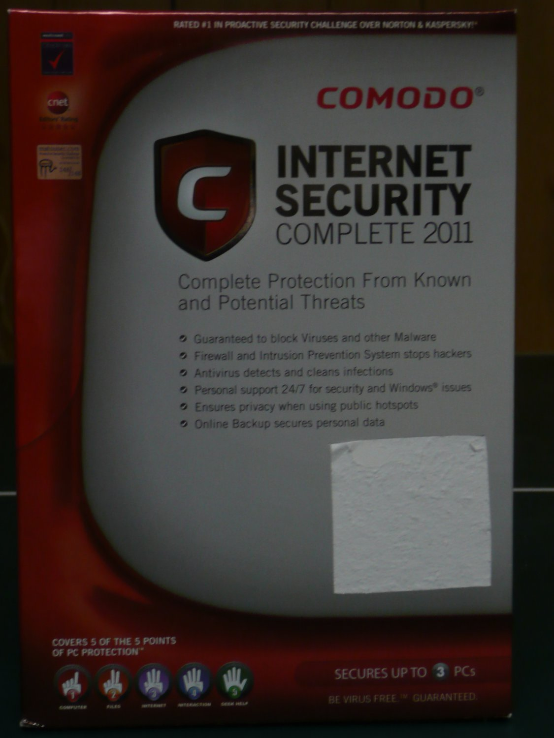 Comodo Internet Security Complete 2011, 3 Users
