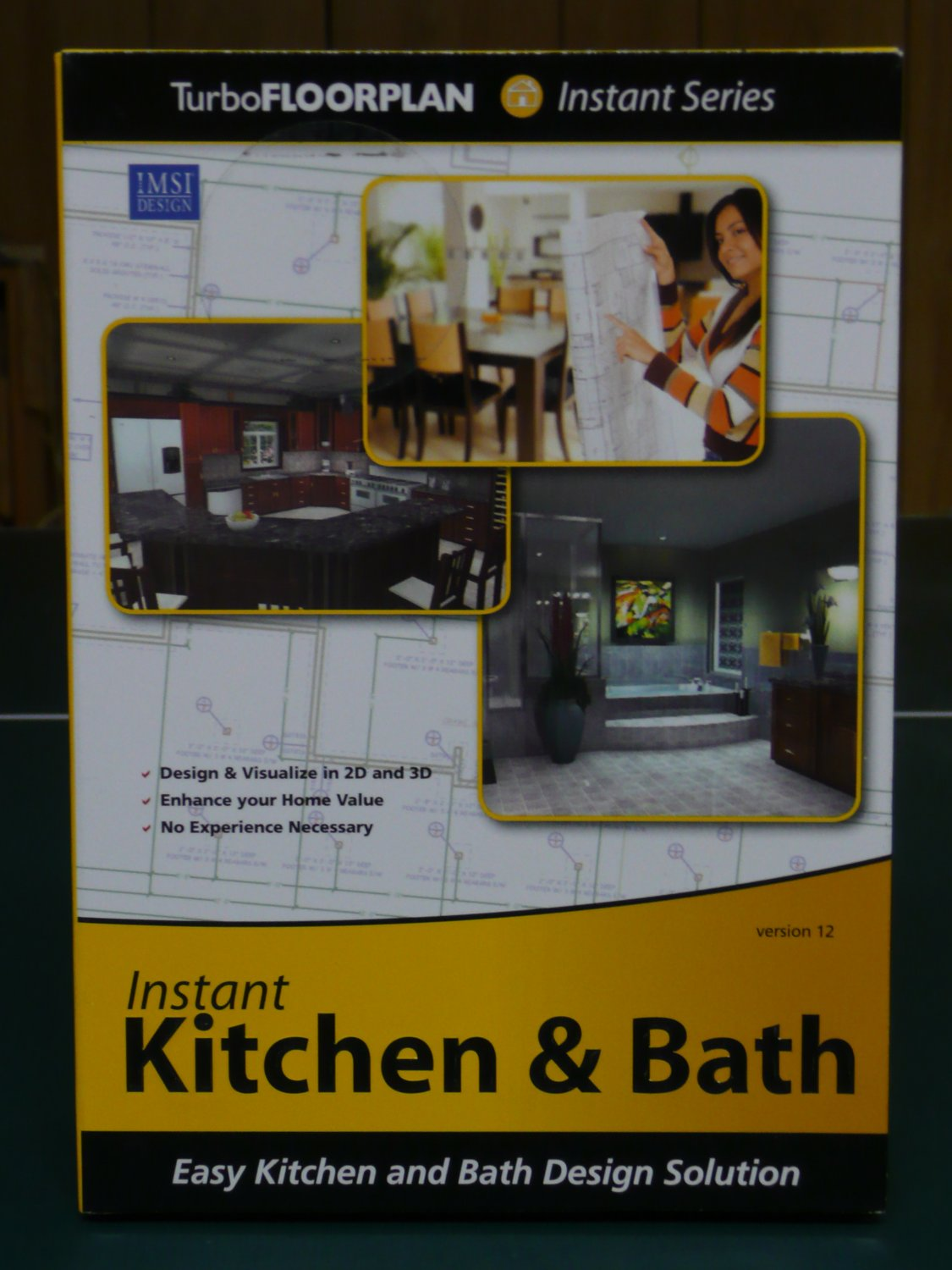 IMSI TurboFloorPlan Instant Kitchen and Bath Version 12