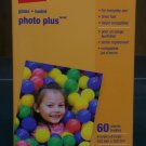 "Staples Photo Plus Paper, 4"" X 6"", Gloss, 60/pack"