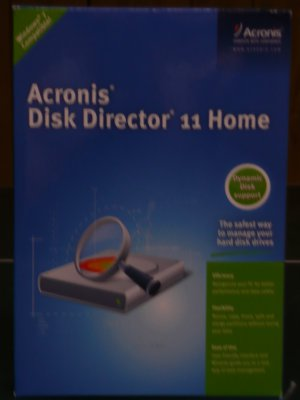 Acronis Disk Director Version 11 Home