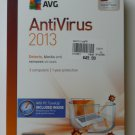 AVG Anti-Virus & Anti-Spyware 2013 Version 12.0, 3 Users + AVG PC Tune Up, 3 Users