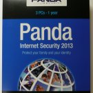 Panda Internet Security 2013, 3 Users