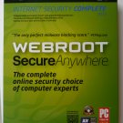 Webroot ® Secure Anywhere Complete 2013, 5 Users