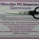 Meganet PC Essentials Certificate - Morpheus Photo Animation Suite, Job Finder, Resume Writer