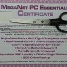Meganet PC Essentials Certificate - Morpheus Photo Animation Suite, Job Finder, Resume Writer