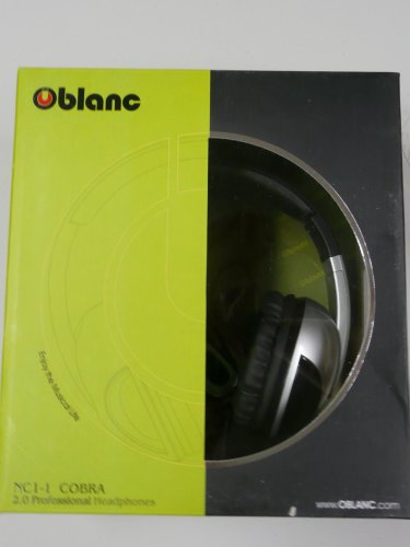 Syba Oblanc Cobra NC1-1 2.0 3.5mm Connector Circumaural Massive 50mm Headphones
