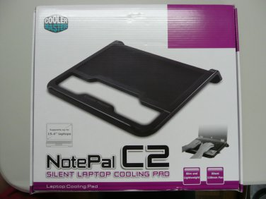 "Cooler Master NotePal CMC2 Notebook Cooler for 15.4"" notebooks - R9-NBC-CMC2-GP"