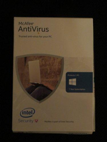 McAfee Antivirus Basic 2016 - 1 PC for 1 User