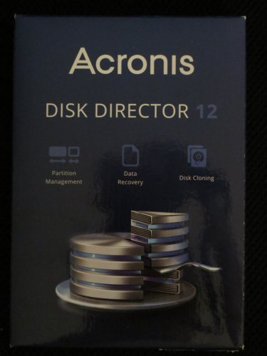 Acronis Disk Director Version 12