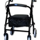 Invacare® Soft Seat Aluminum Rollator with Round Back