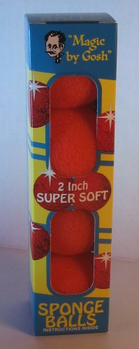 Sponge Balls (Orange Set)