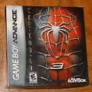 GBA -- SPIDERMAN 3 -- New Sealed!