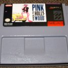 SNES -- Pink Panther PINK GOES TO HOLLYWOOD