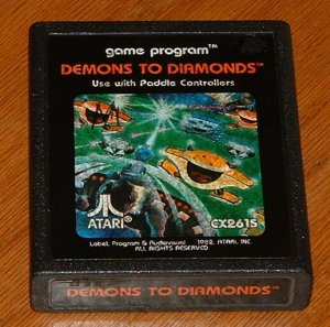 ATARI 2600 - DEMONS TO DIAMONDS