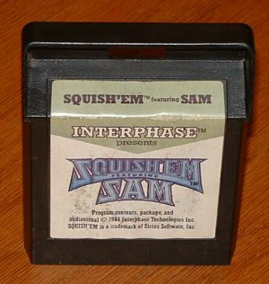 COLECOVISION -- SQUISH &#039;EM SAM
