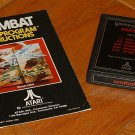 ATARI 2600 - COMBAT text label