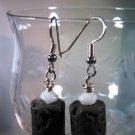 Lava Rock Earrings Handcrafted