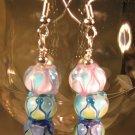 Lampwork Bead Earrings Handcrafted