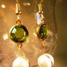 Freshwater Pearl Earrings Handcrafted
