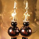 Silver Ball Earrings  Handcrafted