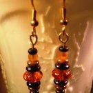 Amber Varied Earrings Handcrafted