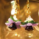 Floral Earrings Handcrafted