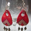 Ethnic Ceramic Earrings Handcrafted