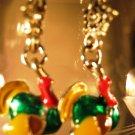 Turkey Earrings French Wire Pierced